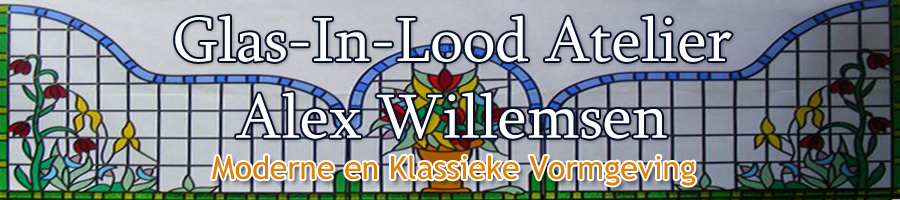 Logo Glas-In-Lood Atelier Alex Willemsen